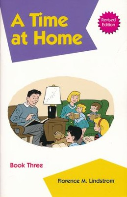 Kindergarten Phonics Reader Book 3: A Time at Home   -