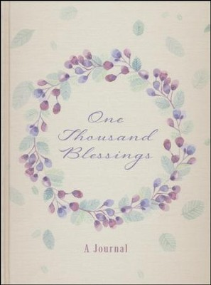 One Thousand Blessings: A Journal  -     By: David McLaughlan