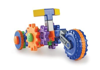 Gears! Gears! Gears! Cycle Gears Building Kit, 30 Pieces  -