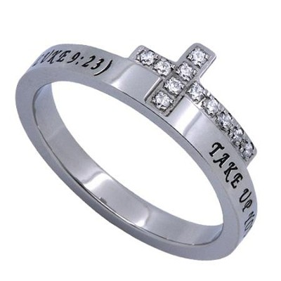 Follow, Just The Cross Ring, Size 9   -