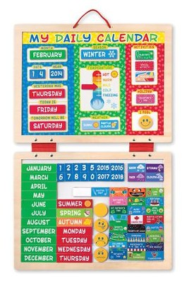 My Daily Magnetic Calendar   -