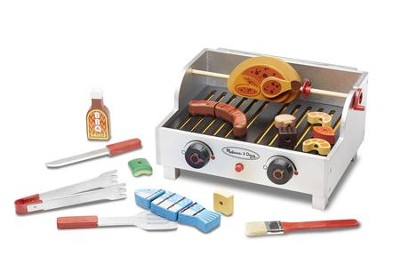 Rotisserie and Grill Barbecue Play Set  -