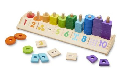 Counting Shape Stacker  -