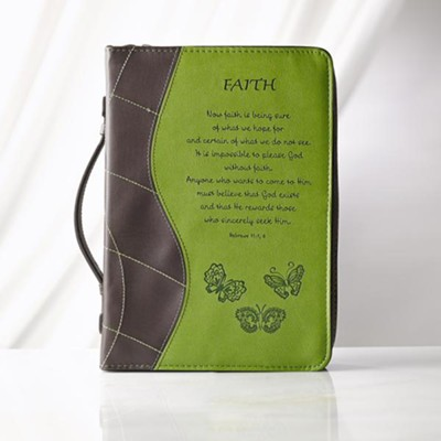 Faith Hebrews 11:1 Bible Cover, Large   -