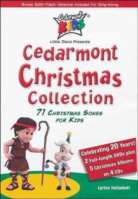 Cedarmont Christmas Collection 2 DVD/4 CD Set   -