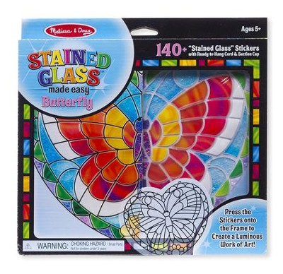 Butterfly, Stained Glass Kit  -