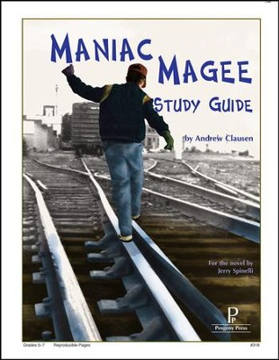 Maniac Magee Progeny Press Study Guide, Grades 6-8   -     By: Andrew Clausen