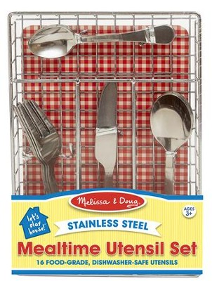 Let's Play House! Mealtime Utensil Set  -