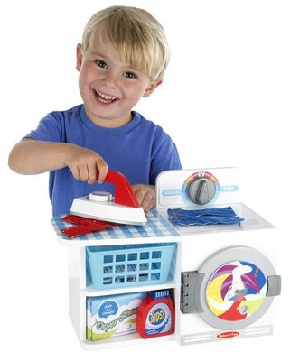Let's Play House! Wash, Dry and Iron Play Set  -