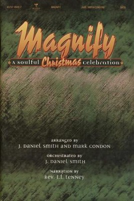 Magnify, A Soulful Christmas Celebration Choral Book  -