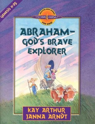 Discover 4 Yourself, Children's Bible Study Series: Abraham- God's Brave Explorer (Genesis Chapters 11-14) - Slightly Imperfect  -