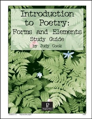 Introduction to Poetry: Forms and Elements Progeny Press Study Guide   -     By: Judy Cook