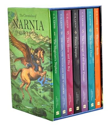 The Chronicles of Narnia, 7 Volumes: Full-Color Collector's Edition  -     By: C.S. Lewis     Illustrated By: Pauline Baynes