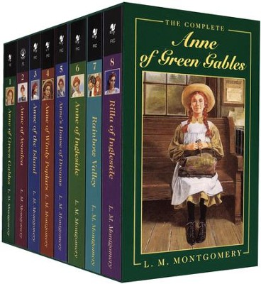 Anne of Green Gables Series 8-Volume Boxed Set   -     By: L.M. Montgomery