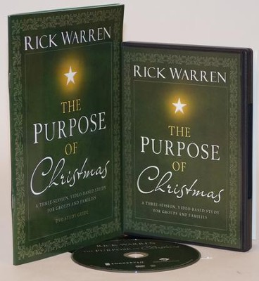 Purpose of Christmas DVD and Study Guide   -     By: Rick Warren