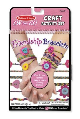 On-the-Go Crafts, Friendship Bracelets  -