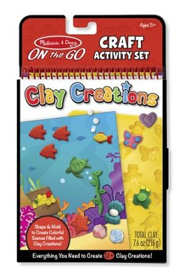 On-the-Go Crafts, Clay Creations  -