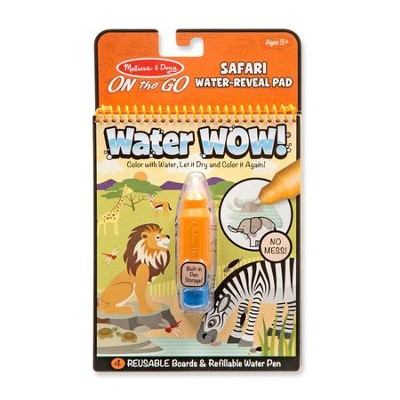 Water Wow! Safari Water Reveal Pad  -