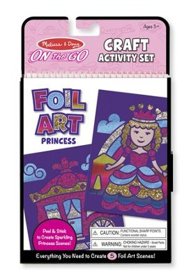 Princesses, Foil Art Kit  -