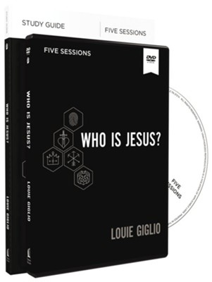 Who Is Jesus? Study Guide and DVD  -     By: Louie Giglio