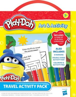 Play-Doh Travel Activity Pack, Large  -