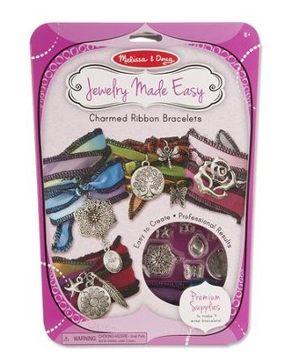 Charmed Ribbon Bracelets Kit  -