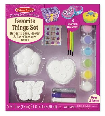 Decorate Your Own, Favorite Things Set  -