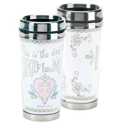 Coloring, This Is the Day the Lord Has Made, Travel Mug  -