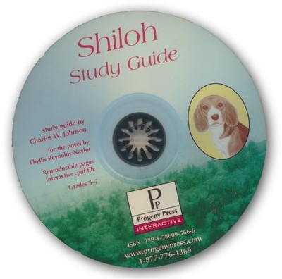 Shiloh Study Guide on CDROM  -