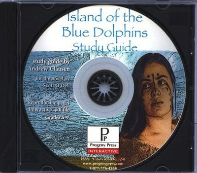 Island of the Blue Dolphins Study Guide on CDROM  -