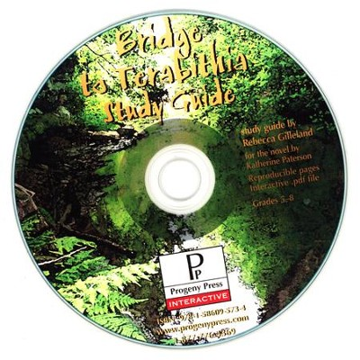Bridge to Terabithia Study Guide on CDROM  -