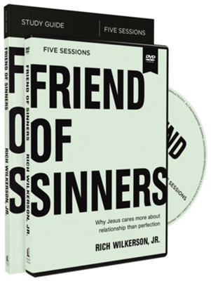 Friend of Sinners Study Guide with DVD  -     By: Rich Wilkerson Jr.