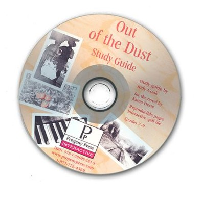 Out of the Dust Study Guide on CDROM  -