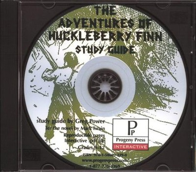 Adventures of Huckleberry Finn Study Guide on CDROM  -