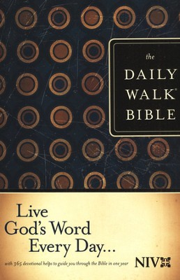 The NIV Daily Walk Bible, softcover (rev) 1984  -