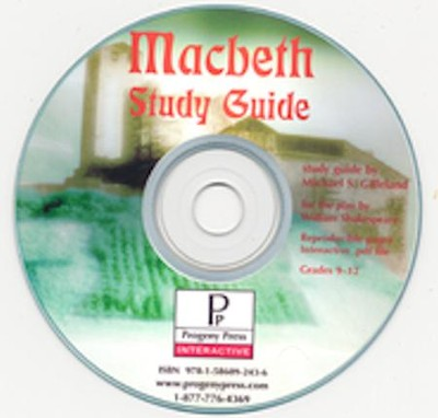 Macbeth Study Guide on CDROM  -