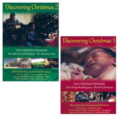 Dicovering Christmas Volumes 1 & 2   -