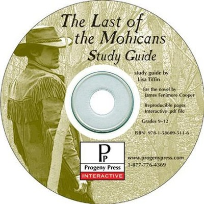 Last of the Mohicans Study Guide on CDROM  -