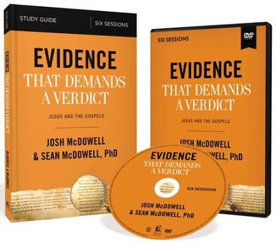 Evidence That Demands a Verdict Study Guide with DVD: Life-Changing Truth for a Skeptical World  -     By: Josh McDowell, Sean McDowell