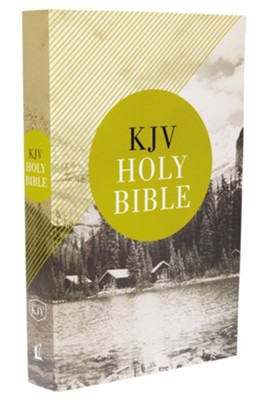 KJV, Value Outreach Bible, Paperback, Softcover, Classic  -