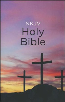 NKJV, Value Outreach Bible, Paperback, Classic  -