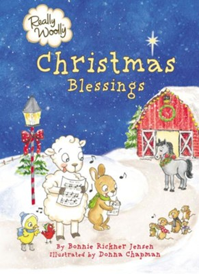 Really Woolly Christmas Blessings  -     By: Bonnie Rickner Jensen