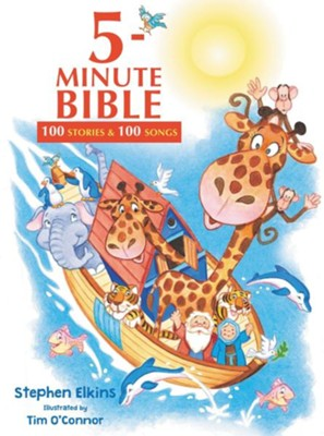 5-Minute Bible: 100 Stories and Songs  -     By: Stephen Elkins