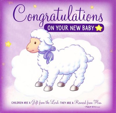 Congratulations on Your New Baby Greeting Card/CD: Sweet Instrumental Lullabies and Bible Songs  -     By: Twin Sisters, Kim Mitzo Thompson, Karen Mitzo Hilderbrand
