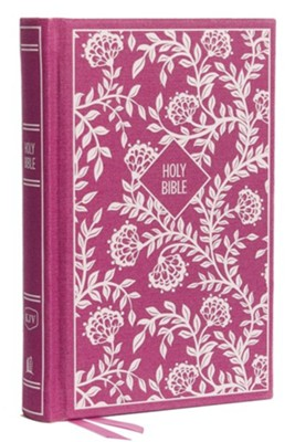 KJV, Thinline Bible, Compact, Cloth over Board, Purple  -