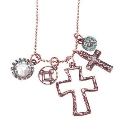 Multi Crosses Necklace  -