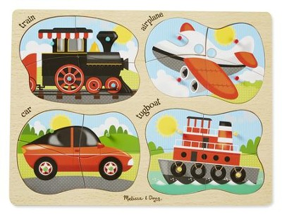 4-In-1 Vehicles Puzzle  -