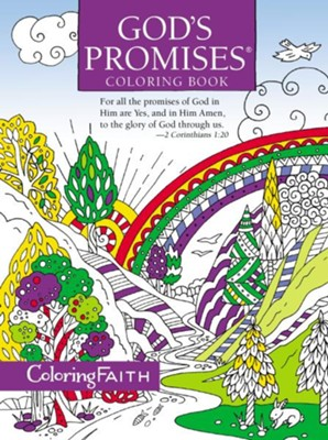 God's Promises Coloring Book  -     By: Jack Countryman