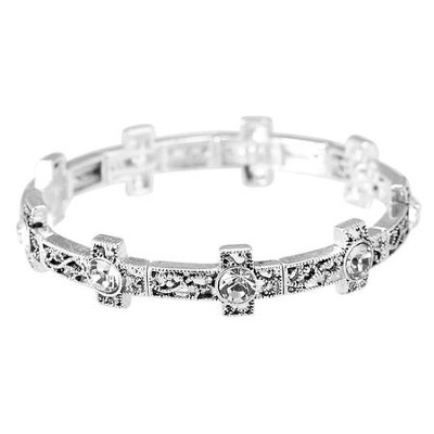 Filigree Crosses Bracelet  -