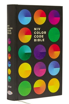 NIV Color Code Bible, Hardcover, Printed Caseside  -